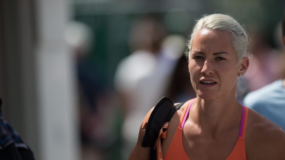 Conny Perrin quitte Roland-Garros sans gagner mais riche d'une nouvelle expérience.