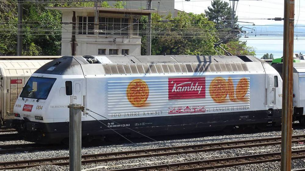 Une des locos qui pose problème à la gare de Neuchâtel.