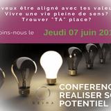 Conférence: Réaliser son potentiel - Seirá Academia