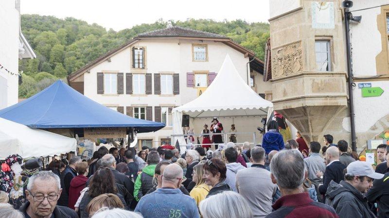 Le coeur du village de Cressier s'annonce animé entre le 4 et le 6 mai