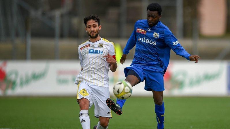 Le Bâlois Kaan Sevinc pourrait ne plus jouer contre le Chaux-de-Fonnier Georges Weah Jr. la saison prochaine.