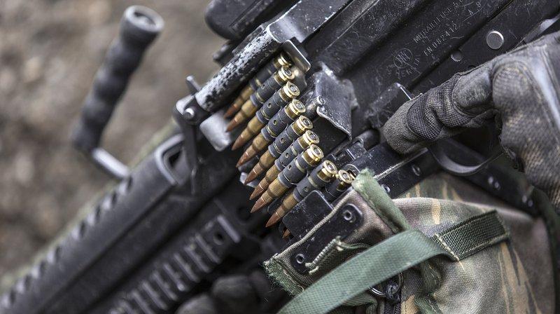 Armes: une initiative contre le commerce de guerre récolte plus de 120'000 signatures