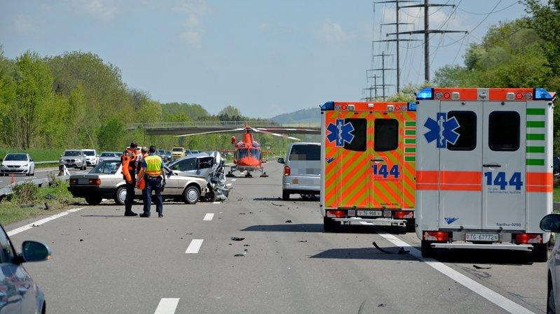 Les circonstances de l'accident restent à déterminer, a indiqué la police cantonale.