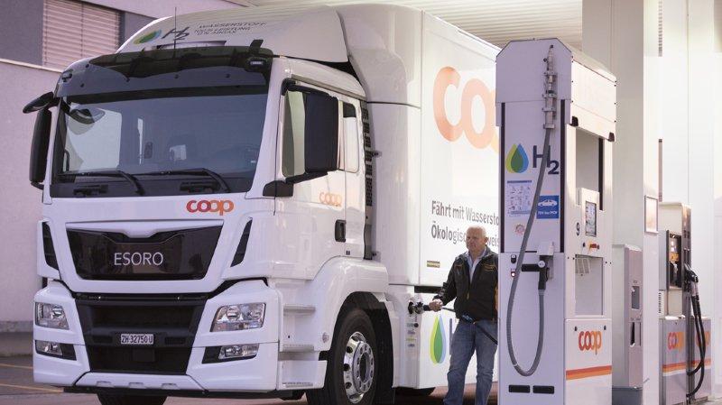 Coop avait inauguré la première station à hydrogène en 2016 (archives).