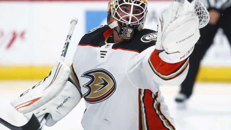 Hockey: Reto Berra quitte la NHL pour rejoindre Fribourg-Gottéron