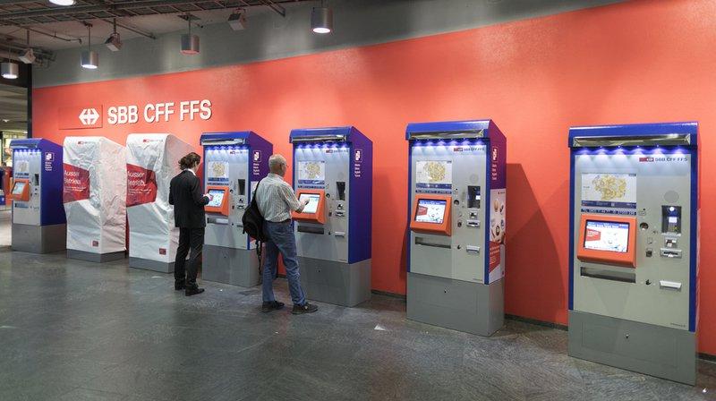 Criminalité: ils volaient des billets de banque dans des automates des CFF