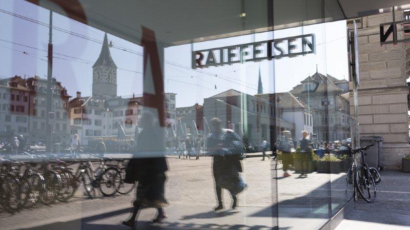 Des clients de Raiffeisen ont reçu de mauvais relevés de compte la semaine dernière. (illustration)