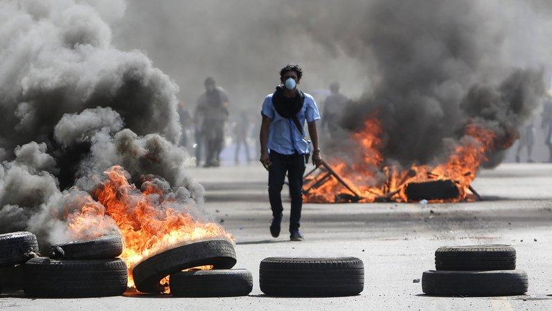 Les protestations se sont durcies vendredi avec des barricades érigées, des heurts avec la police et des dégradations de bâtiments gouvernementaux à Managua et dans d'autres villes du pays.