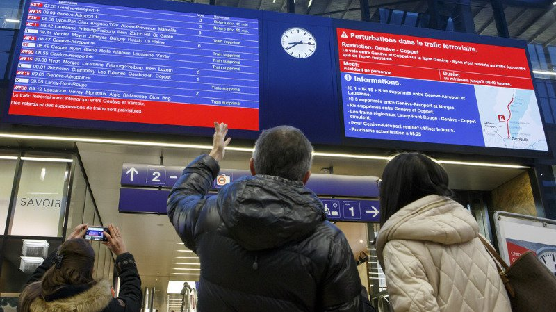 Le nouvel horaire prévoit moins de départs nocturnes au départ de Lausanne (illustration).