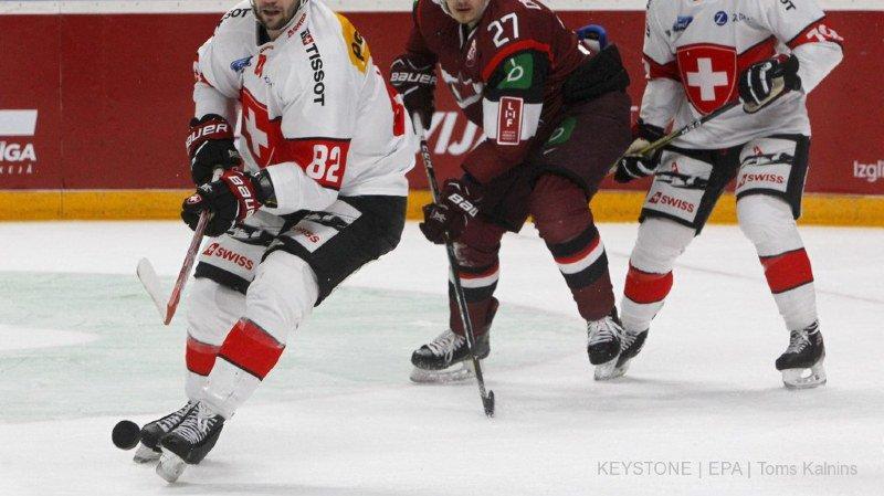Hockey: dernier match avant le Mondial, la Suisse bat à nouveau la Lettonie