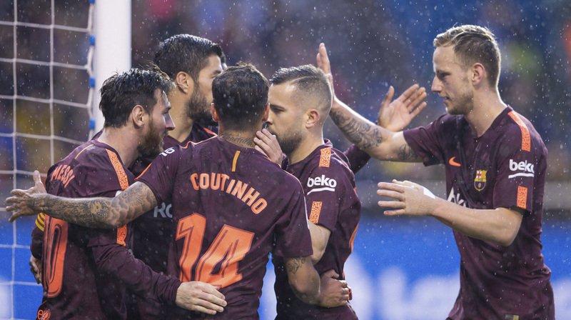 Le FC Barcelone a remporté son 25e titre de Champion d'Espagne.