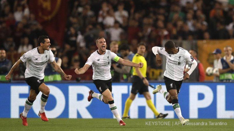 """Football - Ligue des champions: pas de """"Romatada"""", Liverpool affrontera le Real Madrid en finale à Kiev"""