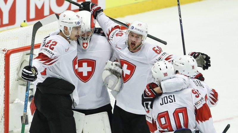 Hockey - Mondiaux 2018: la Suisse bat la Finlande 3 à 2 et file en demi-finale!