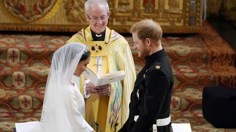 Grande-Bretagne: le prince Harry et Meghan Markle se sont dit oui
