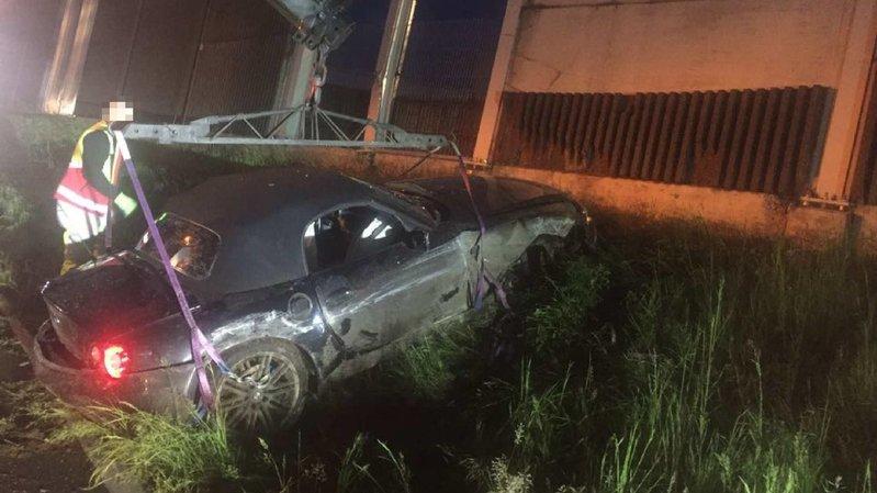 Fribourg: trois blessés dont un grave après une collision sur l'autoroute A12