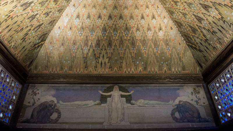 L'art nouveau (ici, l'ancien crématoire de La Chaux-de-Fonds) sera à l'honneur le 10 juin.