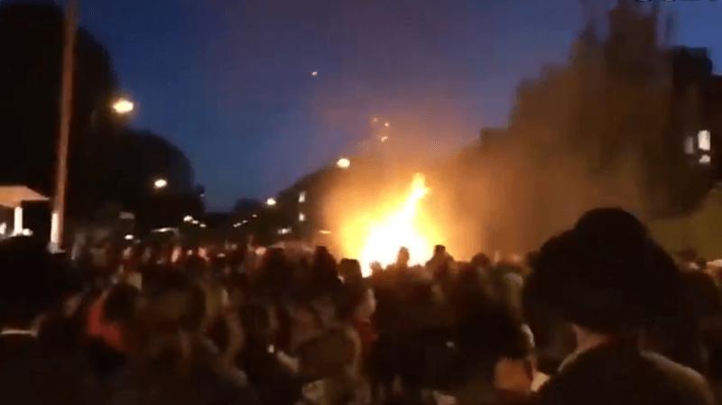 Londres: une dizaine de personnes légèrement blessées par une explosion