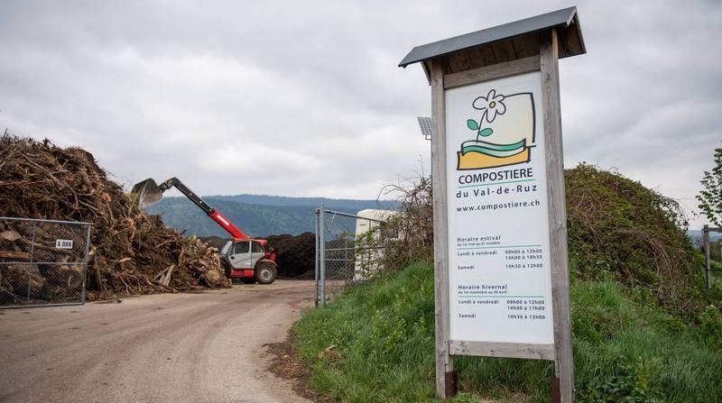 Un enfant décède après un accident à la compostière de Val-de-Ruz