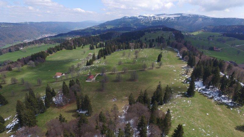 Val-de-Ruz: le parc éolien des Quatre Bornes divise les riverains