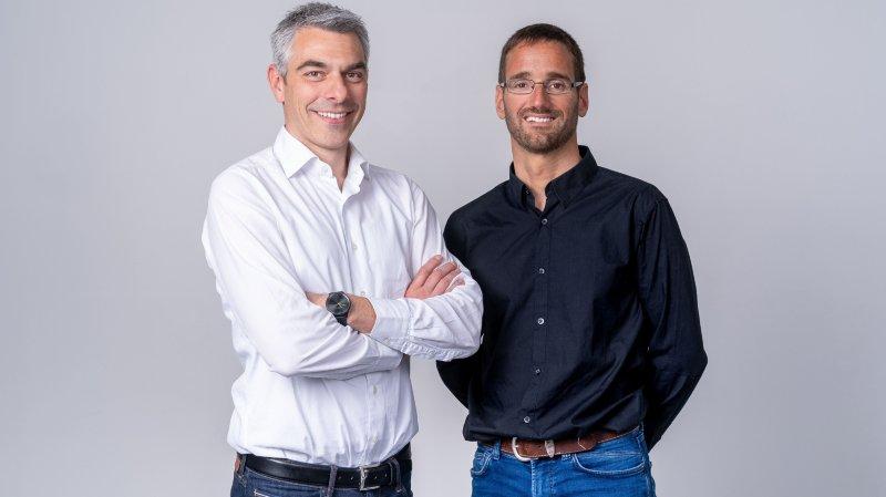 Fondateurs d'aktiia: Mattia Bertschi et Josep Solà.