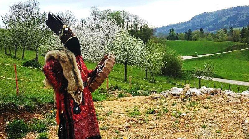 Venus de Mongolie pour un festival de chamanisme en France, deux Mongols ont séjourné à Essertfallon ce week-end.