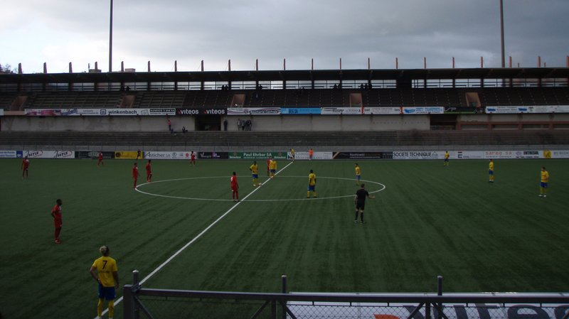 Les ''jaune et bleu'' ont vu les Valaisans égaliser sur penalty.