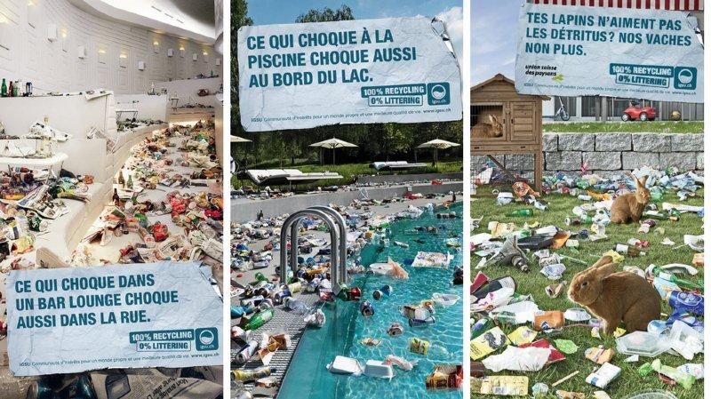 Canton de Neuchâtel: campagne contre le littering
