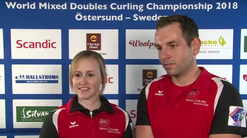 Curling: la Suisse championne du monde en double mixte