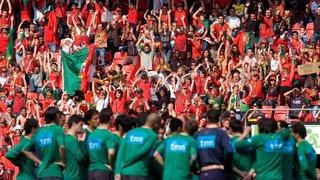 2008: équipe de foot portugaise en terre conquise à Neuchâtel