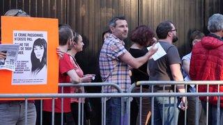 Lausanne: manifestation contre la venue de Bertrand Cantat aux Docks