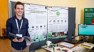 Un étudiant neuchâtelois conçoit un système pour produire des légumes et des poissons à la maison