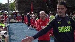 Coupe du monde: Shaqiri, Xhaka et les autres ont commencé les entraînements
