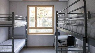Journée portes ouvertes au centre de requérants de Boudry