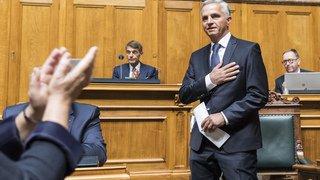 Didier Burkhalter n'était plus en phase avec le Conseil fédéral