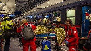 Autriche: un train parti de Zurich percuté en gare de Salzbourg, 54 blessés