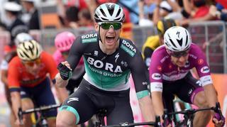 Tour d'Italie: Sam Bennett remporte au sprint la 12e étape du Giro