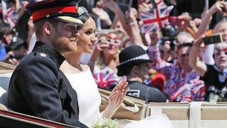 Grande-Bretagne: le prince Harry et Meghan Markle se sont dit oui lors d'une cérémonie fastueuse