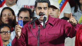 Venezuela: Nicolás Maduro réélu au terme d'une présidentielle contestée par l'opposition