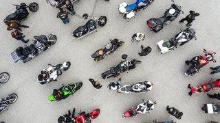 Quelque 200 motards ont reçu la bénédiction au Col des Mosses