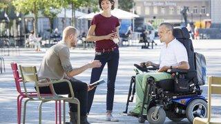 Pas évident de vivre  en ville avec un handicap