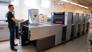 L'imprimerie Gessler Zwahlen a investi ses nouveaux locaux à Saint-Blaise