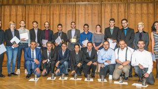 160 nouveaux diplômés à la HE-Arc gestion