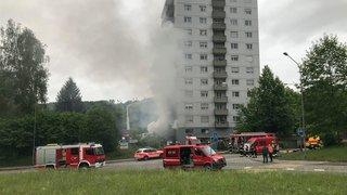 Gros incendies à Bienne