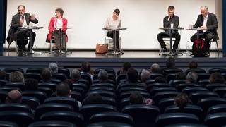 L'argumentaire des référendaires a laissé le public perplexe