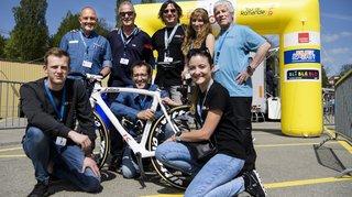 Le team régional du Tour de Romandie