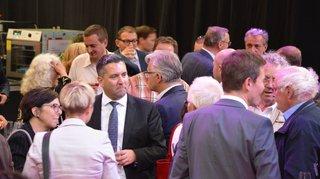 Inauguration officielle du 8 Salon de l'Immobilier NEuchâtelois