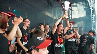 Neuchâtel fête la promotion de Xamax en Super League