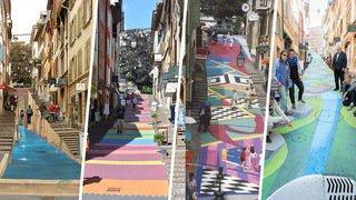 La rue des Chavannes en couleurs, une tradition