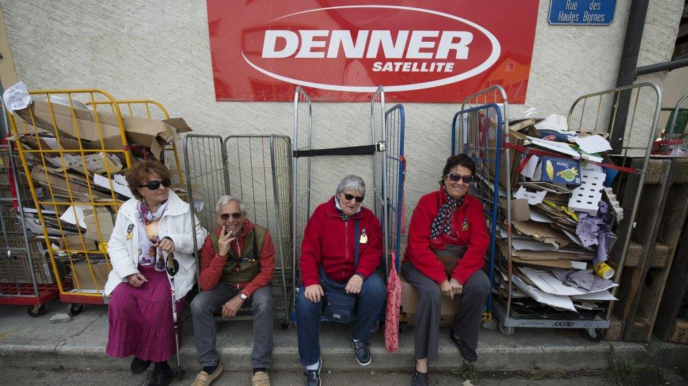 Pendant la fête de la Désalpe, l'enseigne offrait même un lieu de repos apprécié des participants, comme ici en 2015.