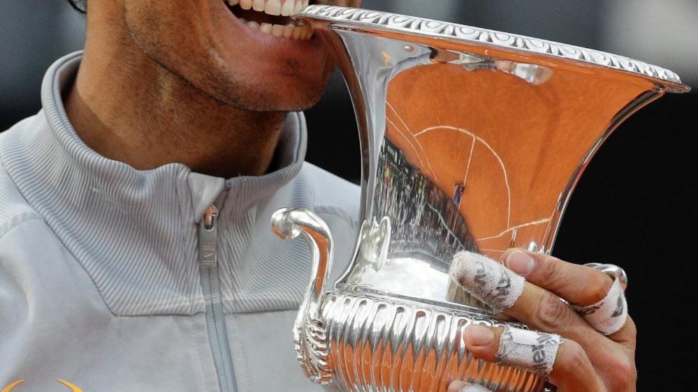 Encore sacré à Rome, Rafael Nadal semble toujours intouchable sur terre battue.